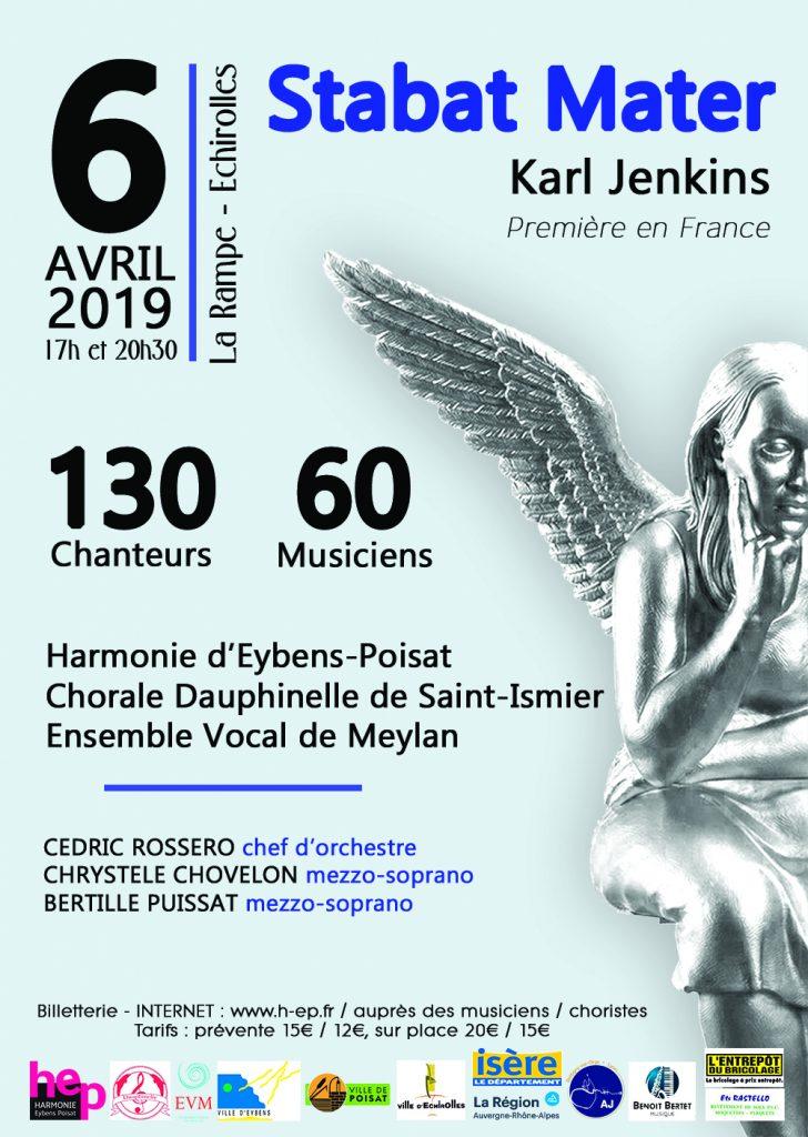 Affiche pour Concert 6 avril 2019
